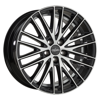 OXIGIN 19 Oxspoke 8,5x19 5-112 ET45 MT66,6 black full polish HD Oxspoke